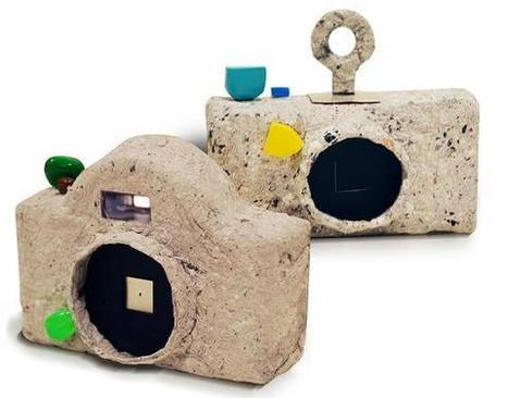 CAP, the pinhole camera made from recycled paper ~ Photography ...   arte y fotografia   Scoop.it
