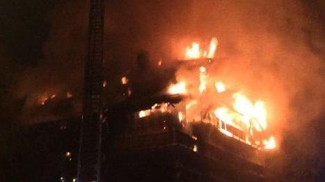 Une résidence de tourisme en partie détruite par le feu à Méribel - France 3 Alpes | Résidences de tourisme, placement toxique? | Scoop.it