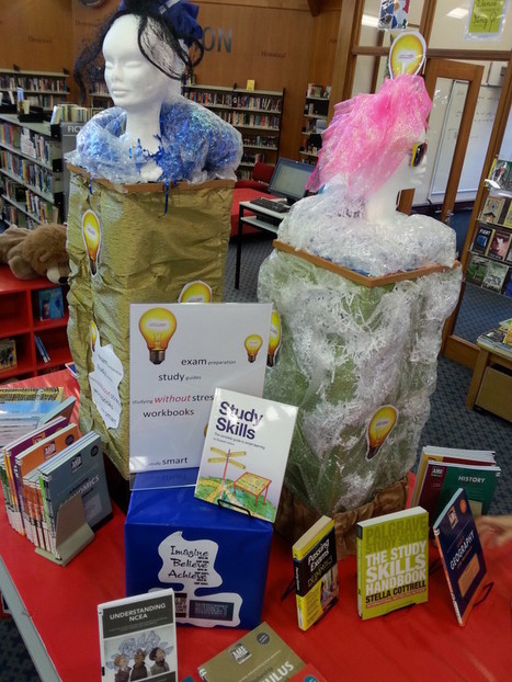 Creative Library Displays | Clayfield College Books and Reading | Scoop.it
