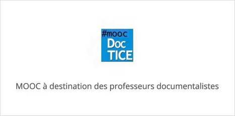 Le MOOC DocTICE pour les professeurs documentalistes commence le 10 février | e-learning, the future | Scoop.it