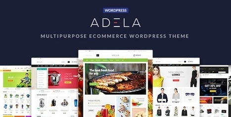 Adela Multipurpose eCommerce WordPress Theme | Collection of creative themes and templates. | Scoop.it