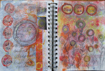 Art Life Now: Draw Your Own Sun: Art Journal Page | Art | Scoop.it