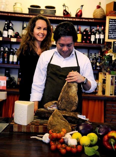 Fabio en Angela leren Delft écht Italiaans eten in Il Tartufo - indebuurt | La Gazzetta Di Lella - News From Italy - Italiaans Nieuws | Scoop.it