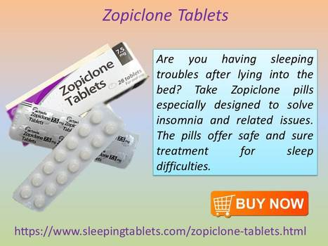 Buy Sleeping Tablets Online & Avail Its Benefits | Solution of Sleeping Disorder (Insomnia) | Scoop.it