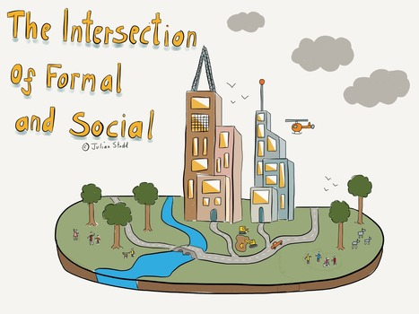 "The Intersection of Formal and Social | Openness in Education and New ""Trends"" in Educational Technology 