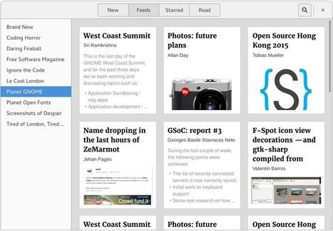 Un possible nouvel agrégateur de flux RSS [pour Linux] ? | RSS Circus : veille stratégique, intelligence économique, curation, publication, Web 2.0 | Scoop.it
