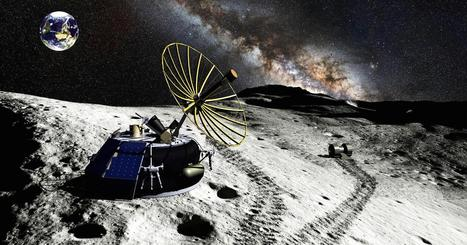 Billionaire's plan to mine the moon | Space matters | Scoop.it