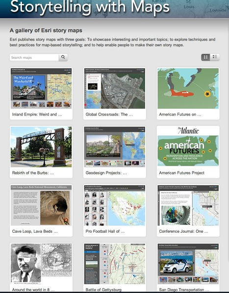 Storytelling with Maps | URBANmedias | Scoop.it