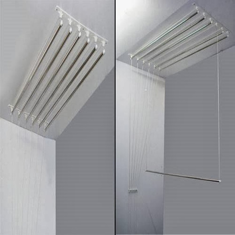 Wall mounted Ceiling Hanger,India | Cloth Drying Hangers | Scoop.it
