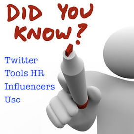 HRmarketer.com Blog: Twitter Tools: What the HR Influencers Use | Social Job Search | Scoop.it