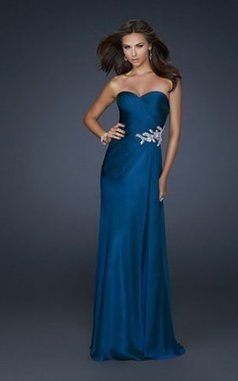 Strapless Elegant La Femme 17740 Blue Long Prom Dresses Cheap [La Femme 17740] - $159.00 : www.homecoming2013outlet.org | long prom dresses | Scoop.it
