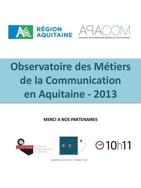 Observatoire des Métiers de la Communication en...   Métiers communication   Scoop.it
