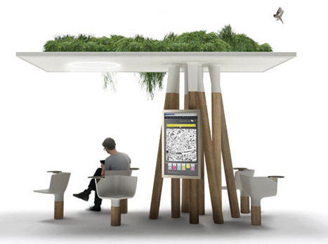 Amazing Green Roof Shelter with Wifi | Vertical Farm - Food Factory | Scoop.it