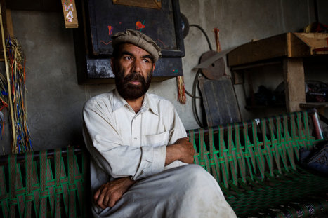 An Afghan Poet Shapes Metal and Hard Words | enjoy yourself | Scoop.it