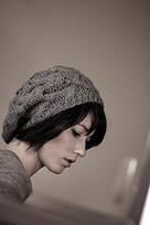 Star Crossed Slouchy Beret pattern by Natalie Larson | Knit-of-the-Month Club | Scoop.it