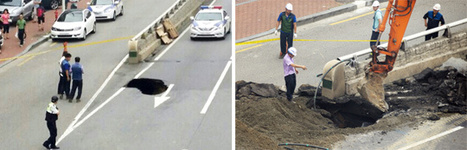 Another Sinkhole Opens in Songpa | English News | Scoop.it