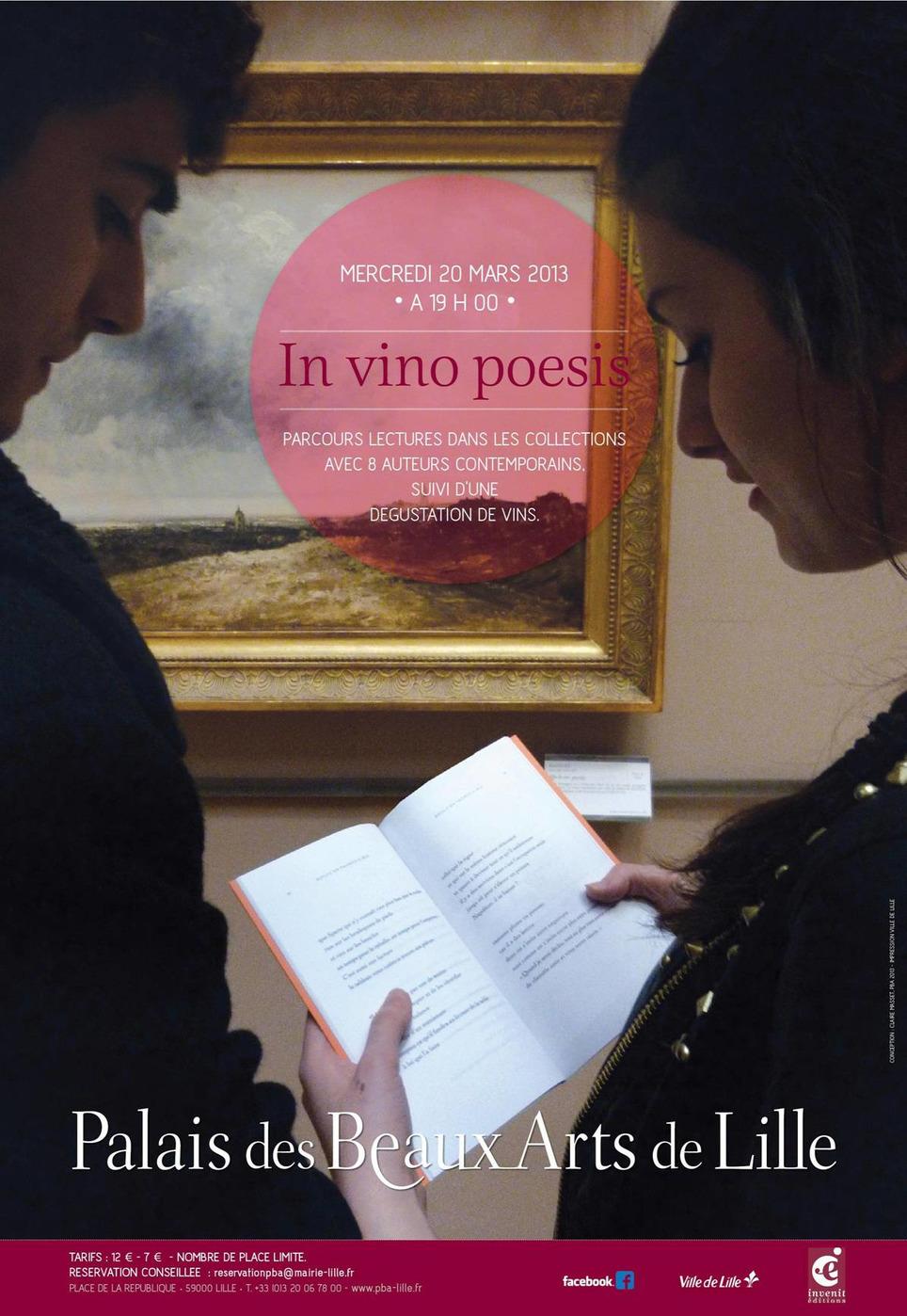 La poésie au Musée des Beaux Arts de Lille, le 20 mars 2013 | Poezibao | Scoop.it
