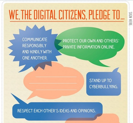 Digital Citizenship Pledge (3-5) | Learning to learn | Scoop.it