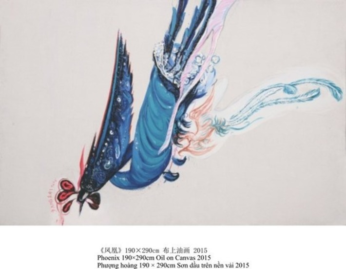Young Chinese painters' works to be introduced in Hanoi | VietNamNet | Kiosque du monde : Asie | Scoop.it
