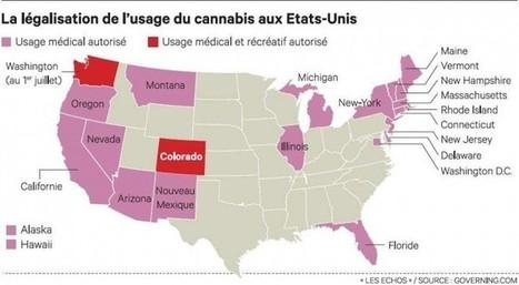De plus en plus d'Etats américains autorisent le cannabis | Documentation Stupéfiante | Scoop.it