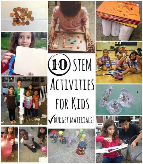 Fun Building Challenges: STEM Activities on a Budget - Kid World Citizen | iPads, MakerEd and More  in Education | Scoop.it