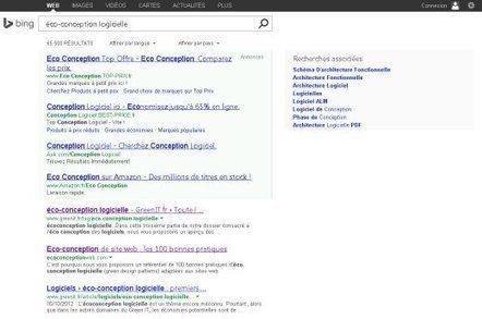 Logiciels › Bing : 20 % des résultats sollicitent 80 % des ressources › GreenIT.fr | Formation ingénieur EIGSI La Rochelle | Scoop.it