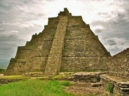 Mexico Tour & Travels – Google+ - Temple of the Smoking Mirror, seen against a dramatic sky.…   North America Shuttle Transfer   Scoop.it