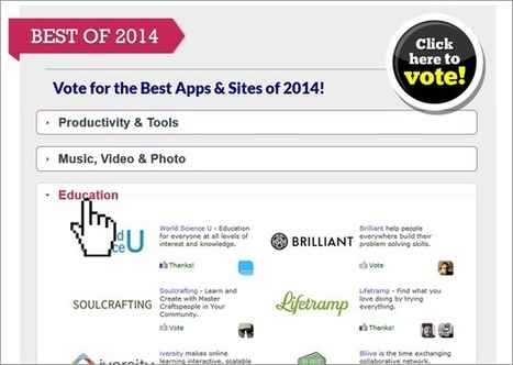 The Top 100 Coolest, Best and Most Addictive Websites of 2014 | Instructional Technology | Scoop.it