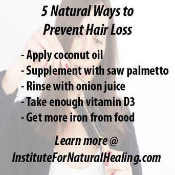 5 Natural Ways to Prevent Hair Loss | Hair Thinning Solutions - Bio Follicle | Scoop.it