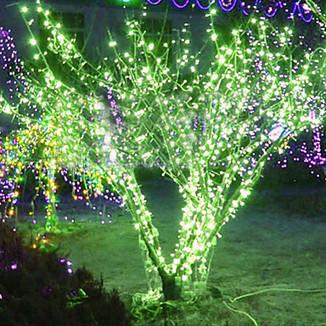 20M Green LED String Lamp with 160 LEDs - Christmas & Halloween Decoration (Star) – LightSuperDeal.com | LED lights | Scoop.it