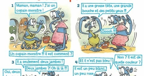 "B.D. ""J'ai un copain monstre"" 