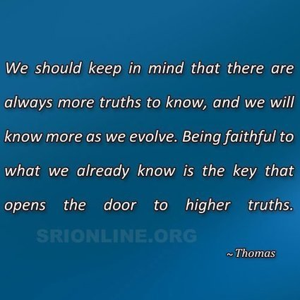SRI Quote | Spiritual Research Institute | Scoop.it