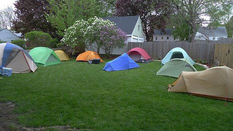 Backyard camping with your kids - BestPopUpTentsGuide | Best Pop Up Tents Guide | Scoop.it