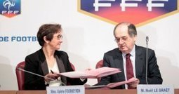 Signature de la convention « Création de 1000 emplois d'avenir dans le football » | TREMPLIN d'AVENIR | Scoop.it