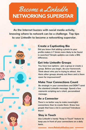 How to Use LinkedIn to Become a Networking Superstar | A Marketing Mix | Scoop.it