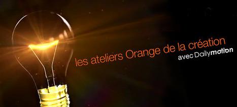 Retour sur les Ateliers Orange de la Création consacrés aux Nouveaux Ecrans | Cabinet de curiosités numériques | Scoop.it