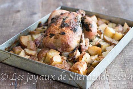 Poulet au four et ses pommes de terre | Les recette de les joyaux de sherazade | Scoop.it