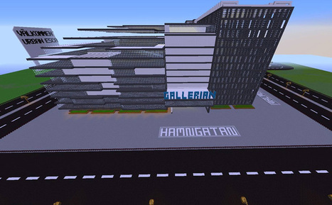 Swedish schoolkids use Minecraft to redesign Stockholm city centre - News | Tracking Transmedia | Scoop.it