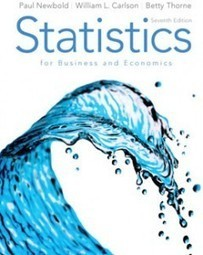 Test Bank For » Test Bank for Statistics for Business and Economics, 7th Edition: Newbold Download | Business Statistics Test Bank | Scoop.it