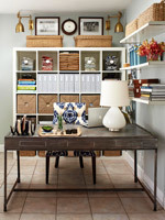 Home Office Storage & Organization Solutions | Home & Office Organization | Scoop.it