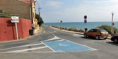 A Leucate, des places handicapés en guise de carrefour | Architecture pour tous | Scoop.it