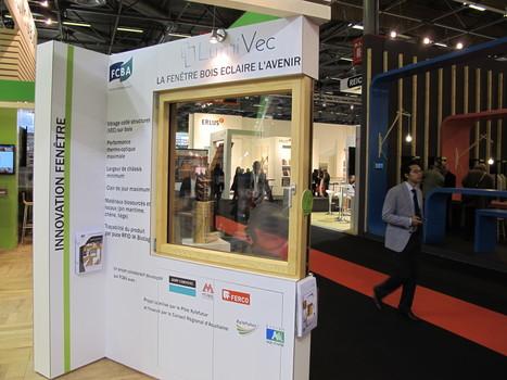 Lumivec  : une fenêtre bois design, performante et intelligente | Le flux d'Infogreen.lu | Scoop.it