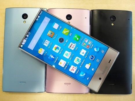 Sharp Aquos Crystal – A Smartphone that uses its Display to the Maximum - GadgetPress | GadgetPress | Scoop.it
