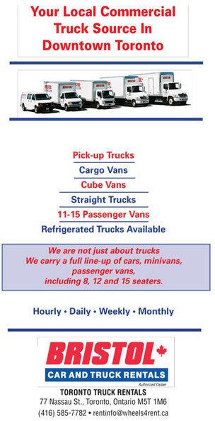 Bristol Truck Rentals Downtown Toronto | Rental Cars Toronto | Scoop.it