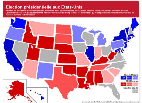 Election présidentielle aux Etats-Unis | Datavisualisation & géopolitique | Scoop.it