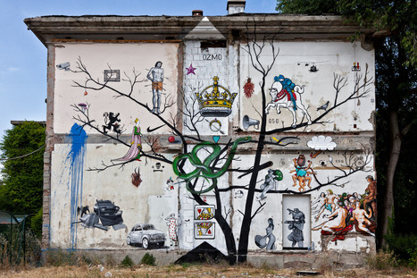 Ozmo - New Mural at ICONE5.9 Street Art Event - GORGO | World of Street & Outdoor Arts | Scoop.it