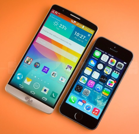 LG G3 versus Apple iPhone 5S | Seeing the World Blog | Worth a Share | Scoop.it