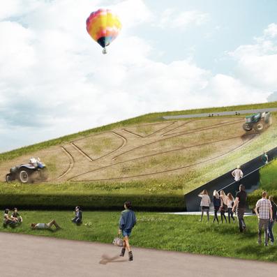 Robot tractors to farm crops on sloping roof of Milan expo ... - Dezeen | Robotics | Scoop.it