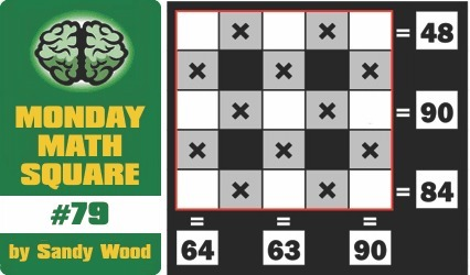 mental_floss Blog » Brain Game: Math Square #79   Math education for the new millenium   Scoop.it