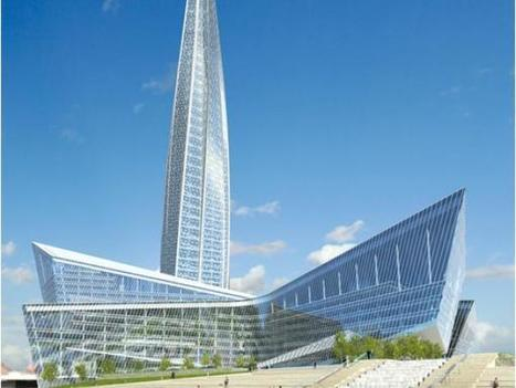Glazing Europe's Tallest Tower | Cities and buildings of Tomorrow | Scoop.it